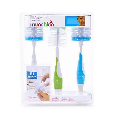 Munchkin 3-Pc. Bottle Brush Set