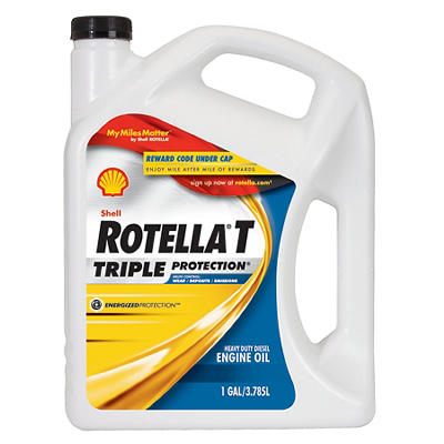 Shell Rotella T Triple Protection Action 15W-40 Heavy-Duty Diesel Engi