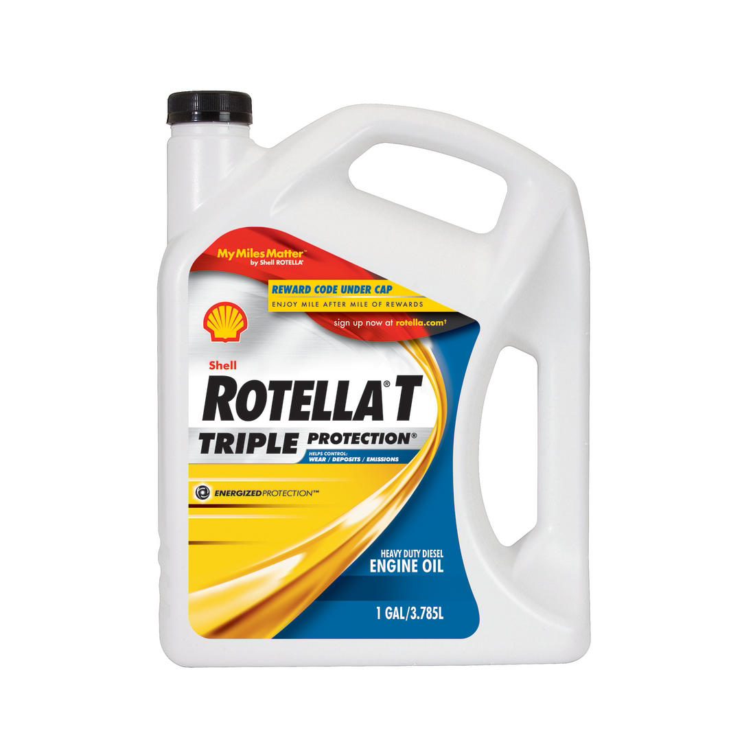 15w40 Diesel Oil >> Shell Rotella T Triple Protection Action 15w 40 Heavy Duty Diesel Engine Oil 6 Pk 1 Gal