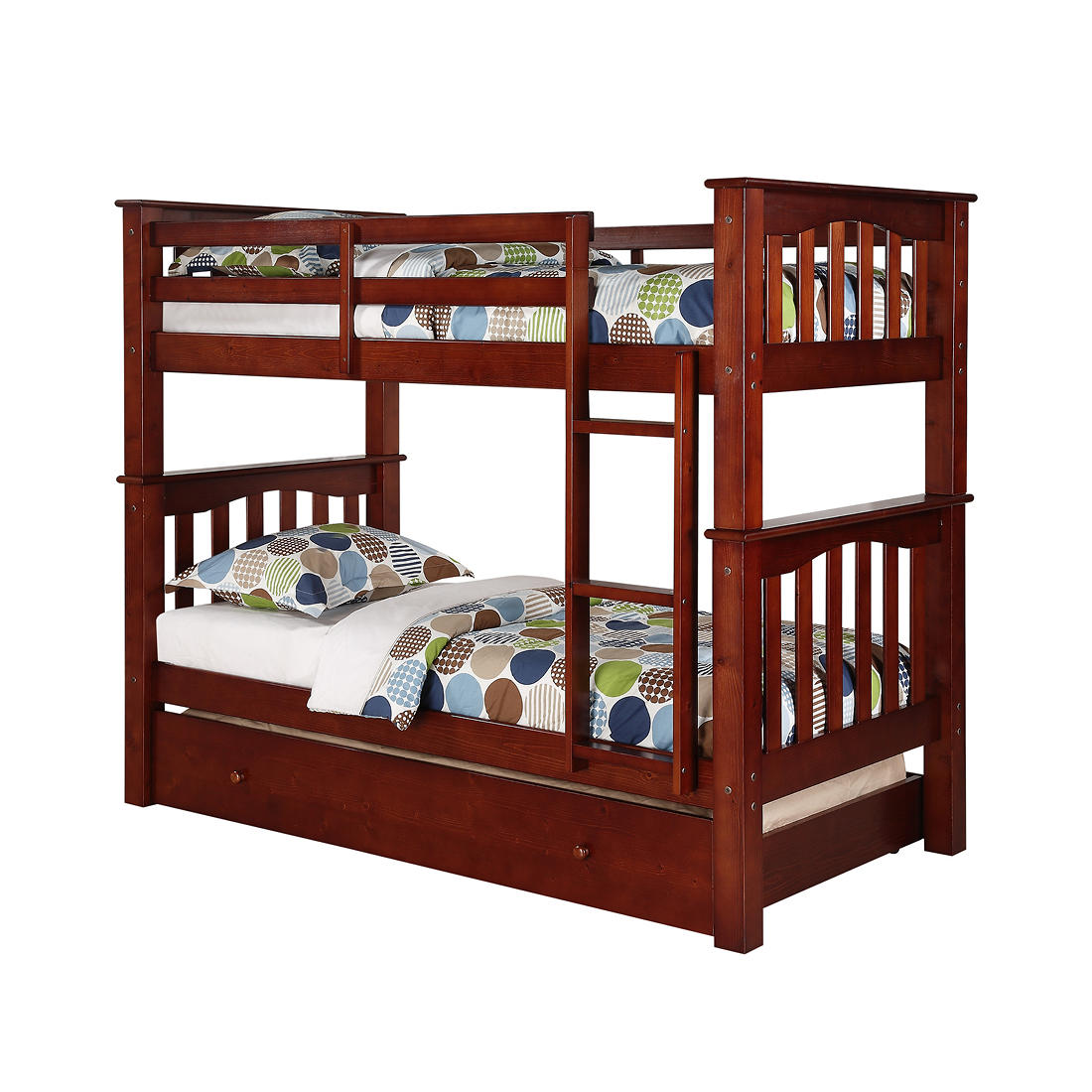 best sneakers cc337 b1ab8 Berkley Jensen Twin-Size Bunk Bed with Trundle