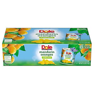 Dole Mandarin Oranges in Light Syrup, 8 pk./11 oz.