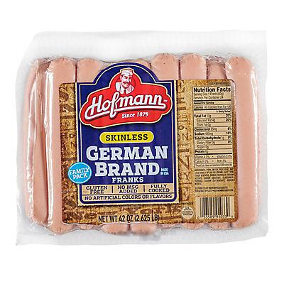 Hofmann Skinless German Franks, 24 ct.