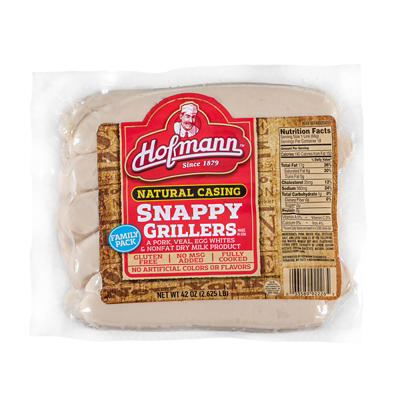 Hofmann Snappy Grillers, 18 ct.