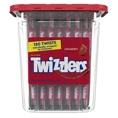 Twizzlers Strawberry Twists, 180 ct.