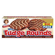 Little Debbie Fudge Rounds, 12 pk./24.1 oz.