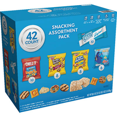 Keebler Cookies and Crackers Variety Pack, 42 ct.