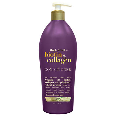 OGX Thick & Full Biotin & Collagen Conditioner, 25.4 oz.