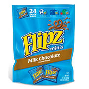 Flipz Milk Chocolate-Covered Pretzels, 24 pk.