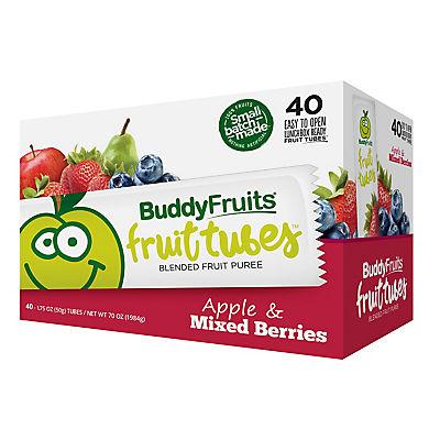 Buddy Fruits Fruit Tubes, 40 pk./1.75 oz.