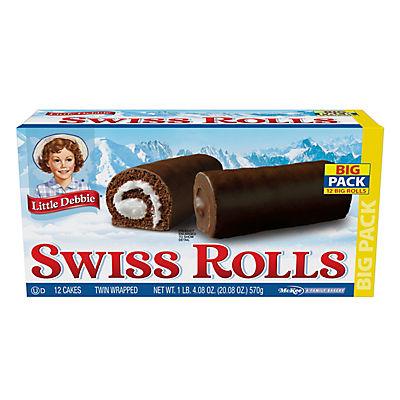 Little Debbie Traditional Swiss Rolls, 12 pk./20.08 oz.