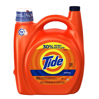 Tide Original Scent HE Liquid Laundry Detergent, 225 fl. oz.