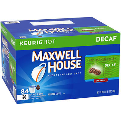 Maxwell House Decaf Coffee K-Cups, 84 ct.