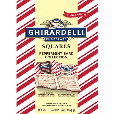 Ghirardelli Peppermint Bark Collection, 1 lb.