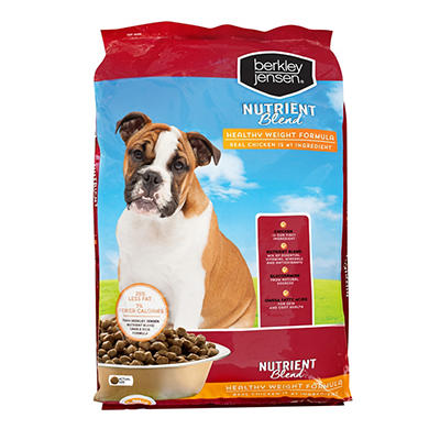 Berkley Jensen Nutrient Blend Healthy Weight Dog Food, 31 lbs.