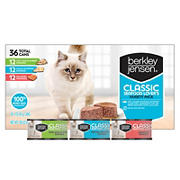 Berkley Jensen Seafood Lover's Classic Variety Pack for Cats, 36 ct.