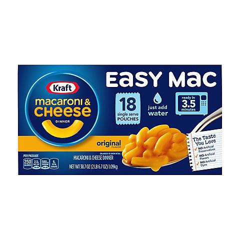 Kraft Easy Mac Macaroni & Cheese Dinner