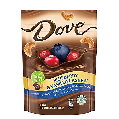 Dove Blueberry and Vanilla Cashews, 21 oz.