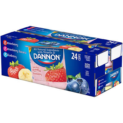 Dannon Whole Milk Yogurt, 24 ct./5.3 oz.