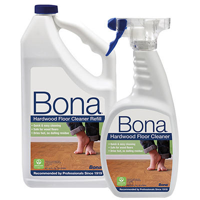 Bona Hardwood Cleaner Combo Pack, 22 oz. and 64 oz.