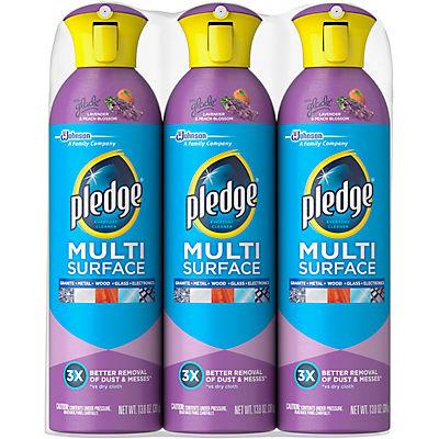 Pledge Multisurface Cleaner, 3 pk./13.8 oz.