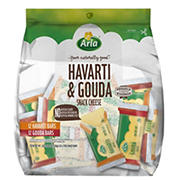 Arla Havarti & Gouda Snack Cheese, 24 ct.