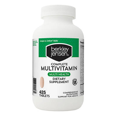 Berkley Jensen Adult Multivitamin, 425 ct.