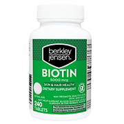 Berkley Jensen 5,000mg Biotin, 240 ct.