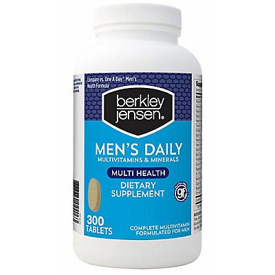 Berkley Jensen Men's Daily Multivitamin, 300 ct.