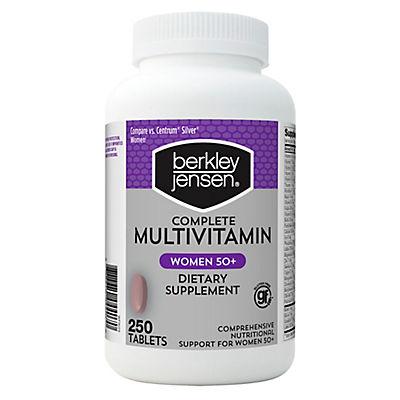 Berkley Jensen Women 50+ Multivitamin, 250 ct.