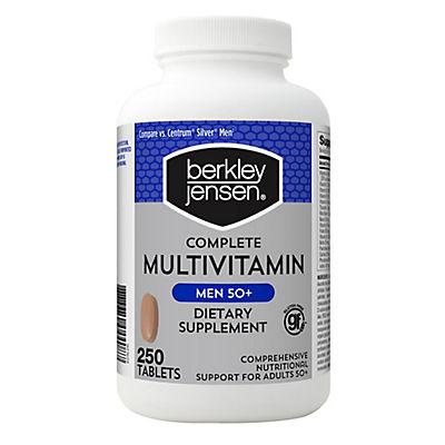 Berkley Jensen Men 50+ Multivitamin, 250 ct.