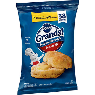 Pillsbury Grands Southern Homestyle Biscuits, 38 ct.
