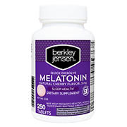 Berkley Jensen 5mg Melatonin, 250 ct.
