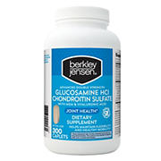Berkley Jensen Double Strength Glucosamine Chondroitin, 300 ct.