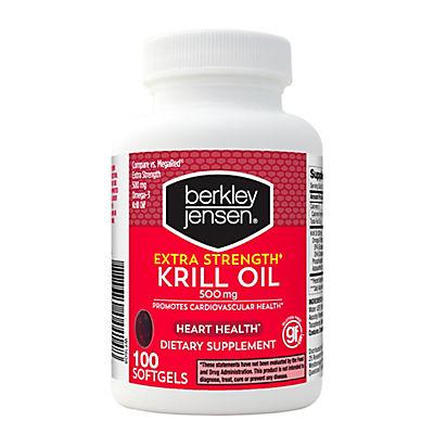 Berkley Jensen Krill Oil 500 mg., 100 ct.