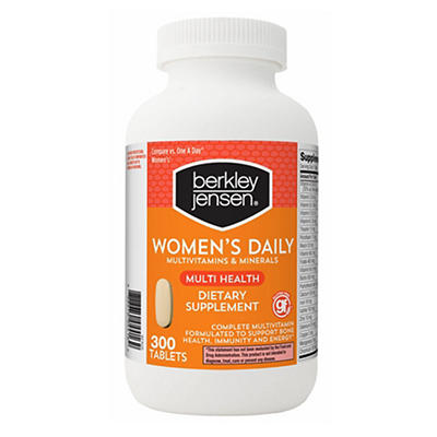 Berkley Jensen Women's Daily Multivitamin, 300 ct.
