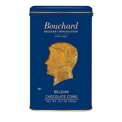 Bouchard Belgian Chocolate Coins, 24.7 oz.