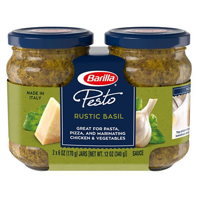 Barilla Traditional Basil Pesto, 2 ct./6 oz.