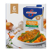 Swanson 100% Natural Chicken Broth, 6 ct./32 oz.