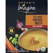 Imagine Organic Low-Sodium Chicken Broth, 6 ct./32 oz.