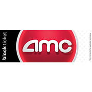 AMC Black Movie Ticket, 2 pk.