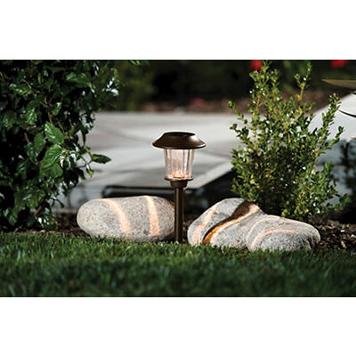 Berkley Jensen 5-Lumen Solar Pathway Lights, 8 pk. - Bronze