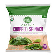 Wellsley Farms Organic Chopped Spinach, 3.5 lbs.