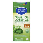 Berkley Jensen 2mg Mint Nicotine Lozenge, 189 ct.