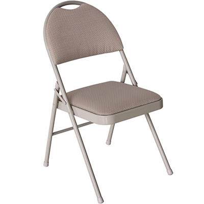 Berkley Jensen Folding Chair - Gray