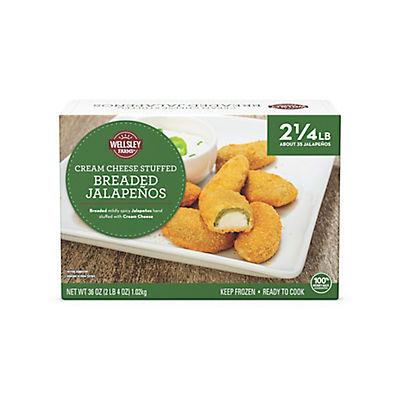 Wellsley Farms Jalapeno Poppers, 36 oz.