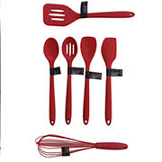 Farberware ColourWorks Assorted Silicone Tool - Red