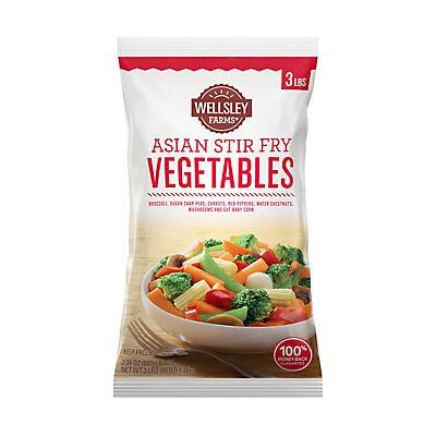 Wellsley Farms Asian Stir Fry Vegetables, 2 ct./24 oz.