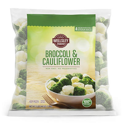 Wellsley Farms Broccoli and Cauliflower, 3 lbs.