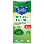 Berkley Jensen 4mg Mint Nicotine Lozenge, 189 ct.