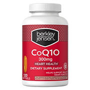 Berkley Jensen 300mg CoQ10 Softgels, 120 ct.